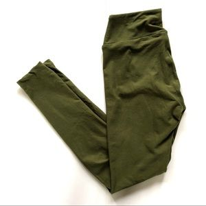 LuLaRoe | Olive Green OS Leggings